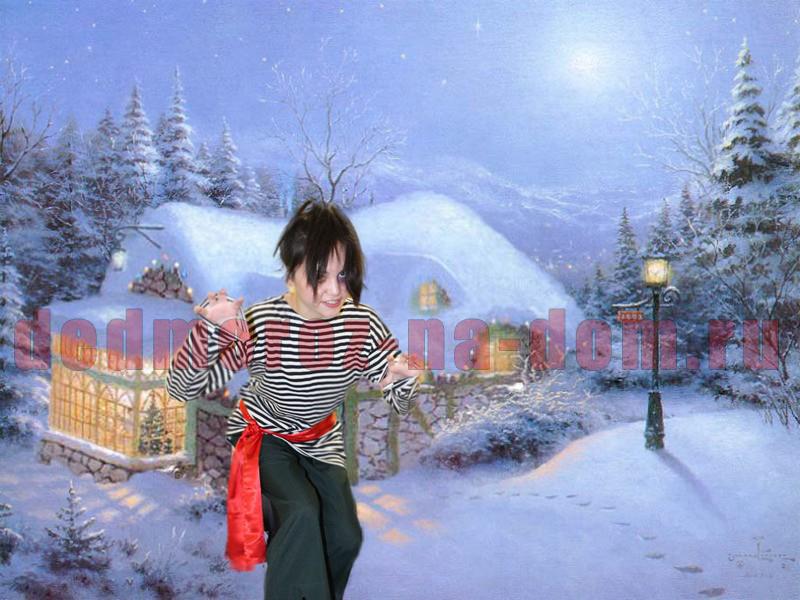 Фотографии заснеженной зимы